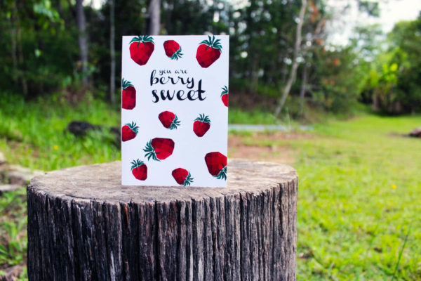 Berry Sweet Greeting Card