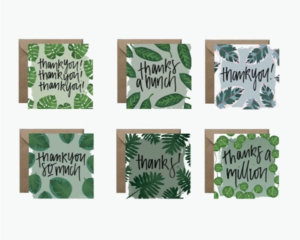 Say Thanks to Your Fronds Greeting Card